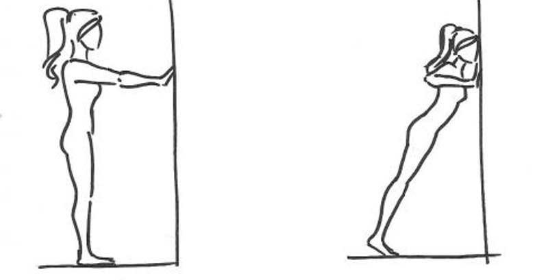 Вертикальные отжимания